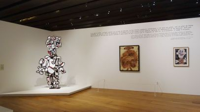 Jean Dubuffet - Un barbare en Europe au Mucem - 1 - Célébration de l'homme du commun - Marionnettes et mascarades
