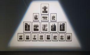 Martin Gusinde, Portraits de personnages incarnant des esprits des hommes - Un autre monde dans notre monde - Frac PACA - Plateau 1 - Photo En revenant de l'expo !