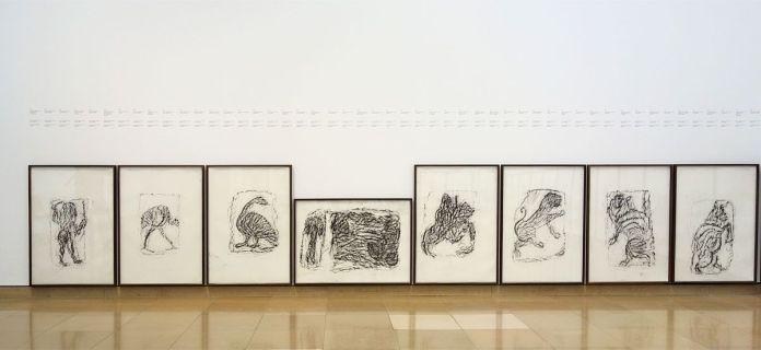 Rayyane Tabet – Orthostates, 2017 - Fragments - Carré d'Art - Photo En revenant de l'expo !