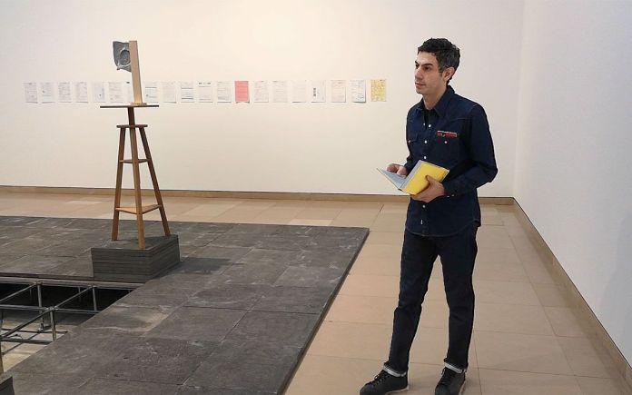 Rayyane Tabet - Fragments - Carré d'Art - Photo En revenant de l'expo !