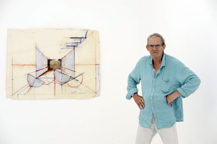 Tjeerd Alkema à la galerie ALMA , 2014 02