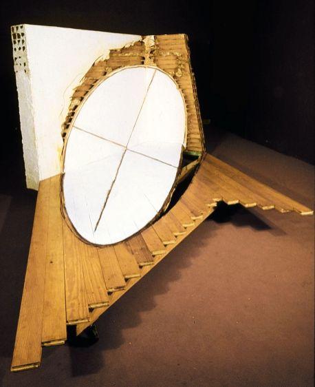 Tjeerd Alkema - Disque blanc, 1982 - Collection Frac OM