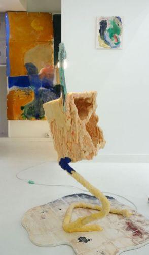Côme Clérino - La Jaune Eclairée, 2019 - Et si on passait les meubles par la fenêtre - Double V Gallery