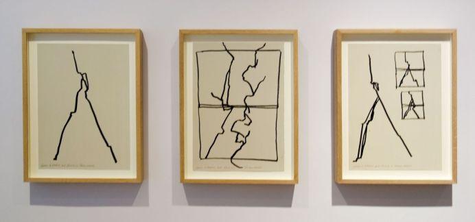 Fabienne Verdier - Carrières de Bibemus, Etudes, 2018 - L'Esprit de la Montagne - Sur les terres de Cezanne au Musée Granet - Etage couloirs