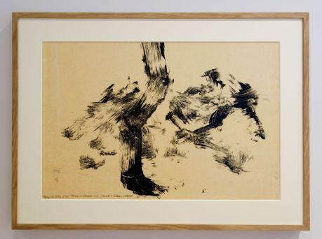 Fabienne Verdier - Etude n°3 - L'Esprit de la Montagne - Sur les terres de Cezanne au Musée Granet - Etage couloirs