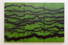 Fabienne Verdier - Suite provencale II, 2015 - Intuition du paysage sonore - Sur les terres de Cezanne au Musée Granet - Etage Salle 1