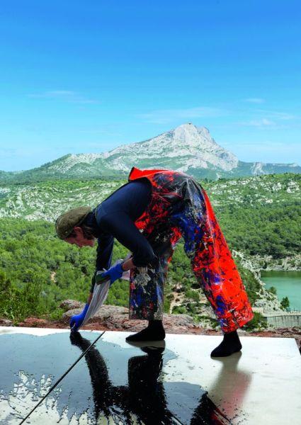 Fabienne Verdier - Sur les terres de Cezanne © Thierry Cron