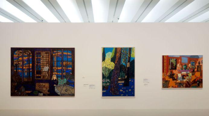 Vincent Bioulès - Chemins de traverse - Habiter la peinture au Musée Fabre