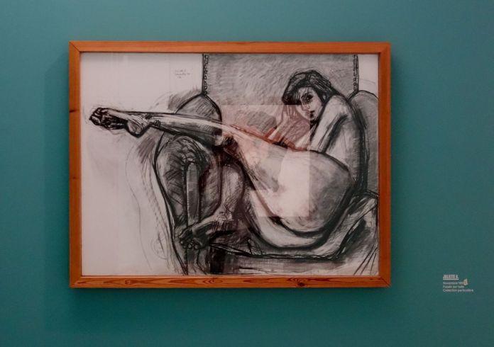 Vincent Bioulès - Juliette A, 199x - Chemins de traverse - Ce qu'il y a de plus compromettant au Musée Fabre