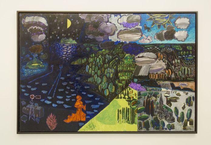 Vincent Bioulès - Le cantire des créatures, 1980 - Chemins de traverse - Le paysage, cette joie fondatrice au Musée Fabre