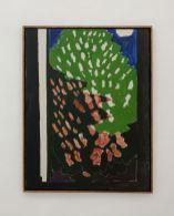 Vincent Bioulès - Le marronier en fleurs, 1965 - Chemins de traverse au Musée Fabre