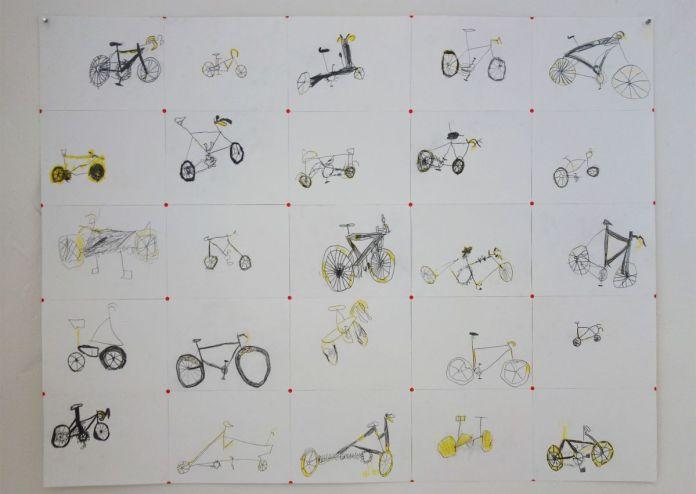 gethan&myles - A Rose by any other name - Besoin de vélo à la Cartine - Photo En revenant de l'expo !