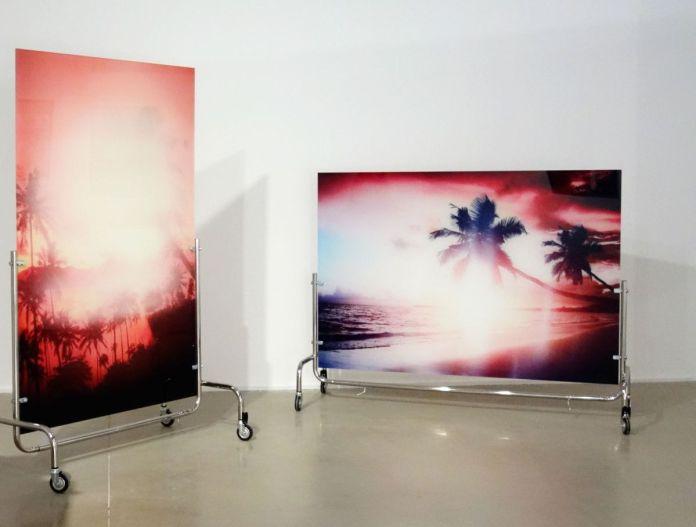 Benoît Jeannet - Paysages du Pacifique effacés, Série S'enfuir du paradis, 2019 - Sur Terre - Image, technologies & monde naturel - Rencontres Arles 2019