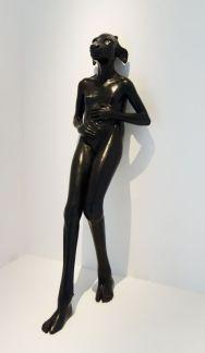 Prune Nourry - Standing Holy Daughter, 2010 - Bêtes de scène à la Villa Datris - Langages Animaliers
