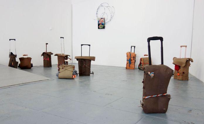 Rodolphe Huguet - Sans titre, 2018 - Pour rêver une liberté retrouvée dans une maison sans murs au CACN – Nîmes