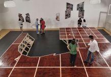Antoine Espinasseau - Au quatrième mur - Mécènes du sud Aix-Marseille - Studio Littledancer à Marseille. Photo En revenant de l'expo !