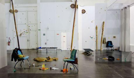 Emmanuelle Lainé - Suspension Volontaire de la Crédulité - L'été contemporain à la Friche la Belle de Mai - Photo En revenant de l'expo !