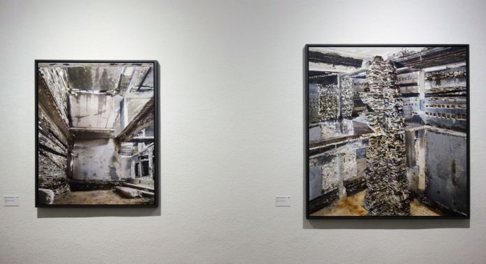 Marjan Teeuwen - Destroyed House Gaza 6 et 9, 2017 - Destroyed House - Les Rencontres Arles 2019 - Exposition - Photo En revenant de l'expo !