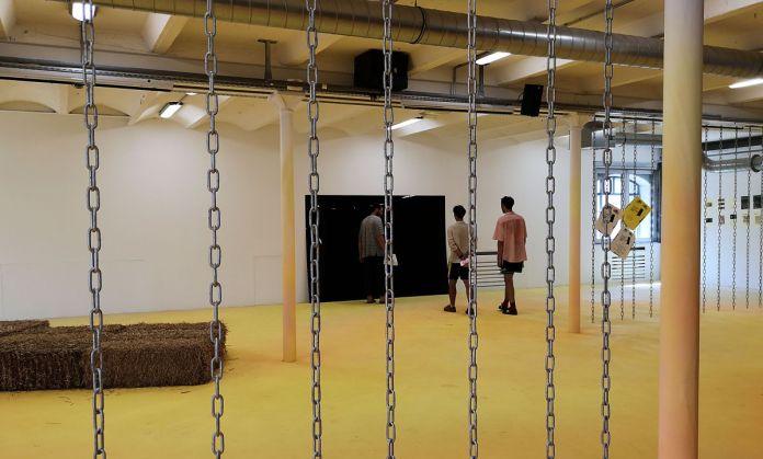 Rhum Perrier Menthe Citron - L'été contemporain à la Friche la Belle de Mai -Photo En revenant de l'expo !