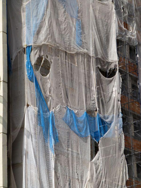 Rodolphe Huguet - Le cri fantôme n°2, 2012 - Photographie contrecollée sur Reynobond, 60 x 80 cm