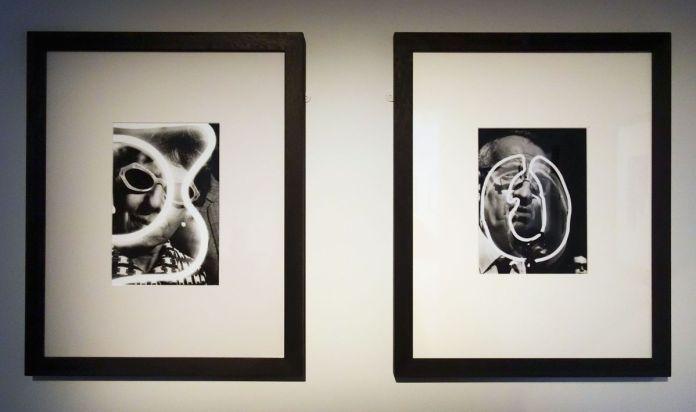 """We were Five - Musée Réattu Arles - Barbara Crane, Neon series, 1969. Photo """"En revenant de l'expo !"""""""