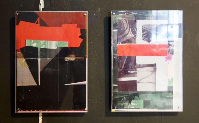 Basile Ghosn - Your silent face (3 et 4), 2019 - Entrepôt Gérald Moreau - Marseille