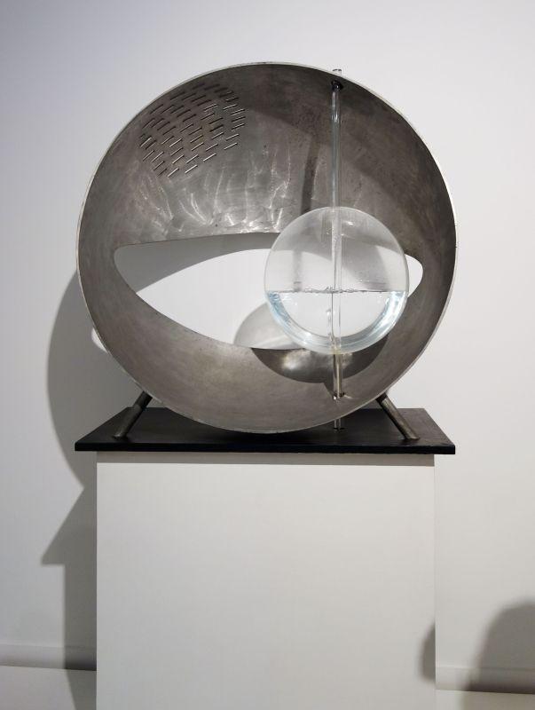 Gyula Kosice - Architecture de l'eau mobile dans une demi-sphère, 1963 - La révolution permanente à la Fondation Vasarély - Aix-en-Provence
