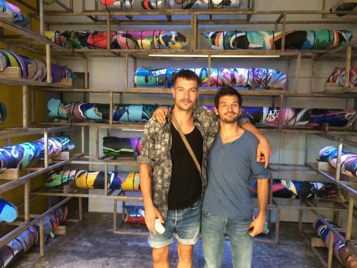 Ugo Schiavi et Thomas Teurlai - Loots ) à la Double V Gallery - Marseille - Photo La revue Artaïs Art contemporain