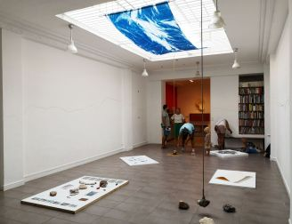 gethan&myles Lines / the distance between us au Stodio Fotokino - Marseille - vue de l'exposition