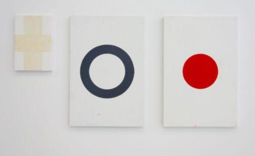 André Baldinger - Croix, Cercle et Point, 2002 - Viva Villa 2019 - Collection Lambert