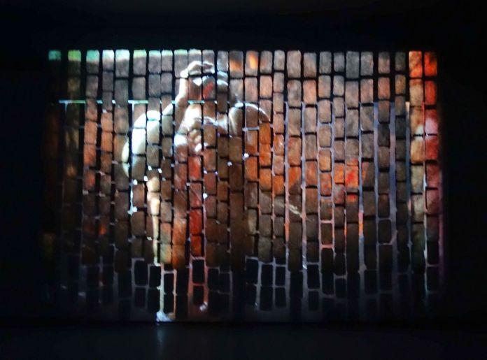 Seydou Cissé - Ladjoni (Purification), 2019 - Viva Villa 2019 - Collection Lambert - vue de l'exposition - Photo En revenant de l'expo !