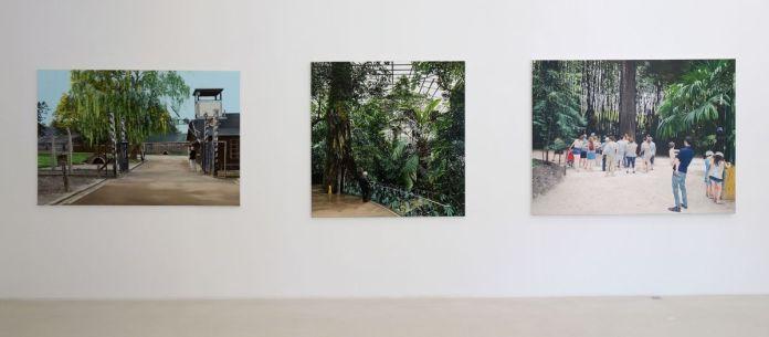 Thomas Lévy-Lasne – A Auschwitz, Au Biodôme et Devant l'arbre, 2019 - Viva Villa 2019 - Collection Lambert