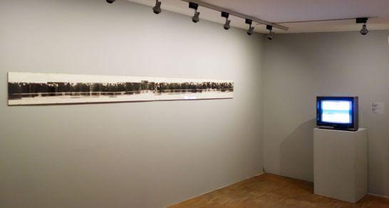 VALIE EXPORT - Be-weg-te Bilder; Studie über Bewegungsfolgen als Kante von Zeit und Raum,1972 et Interrupted Line, 1971-72- Expanded Arts au Pavillon Populaire