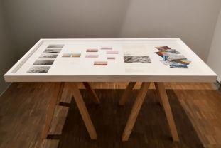 VALIE EXPORT - Display case #32, 2011 Wellen I- Expanded Arts au Pavillon Populaire Montpellier