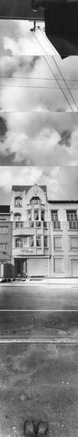 VALIE EXPORT FRANKREICH, 1973 Tirage sur papier – 8 tirages 209 x 40,5 cm encadré © VALIE EXPORT Courtesy VALIE EXPORT