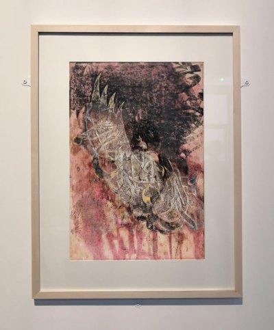 "Aziz Hazara, Noghra sorkh [Rouge argent], ""Vajeh ha-ye sukhtah"" [Les mots brûlés], 2010"