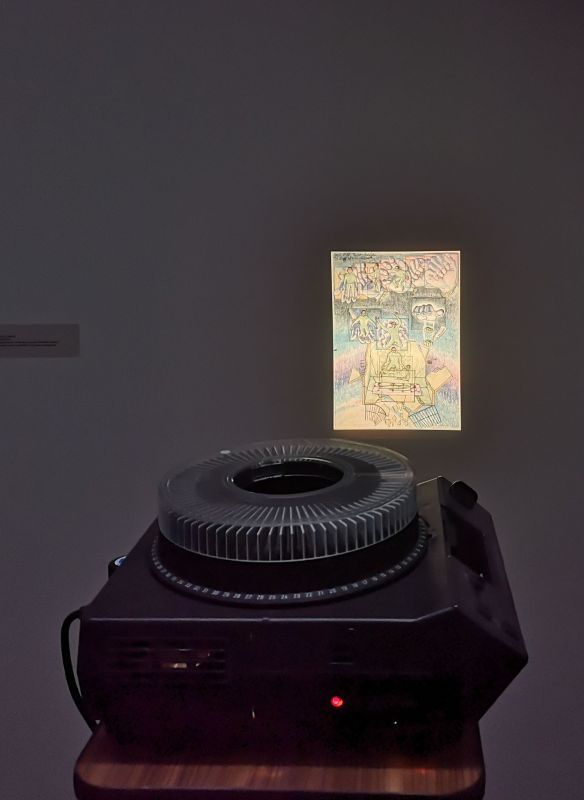 Eric Baudelaire - L'Anabase - Prison Drawing 1997-2000 par Masao Adach -«Faire avec» au CRAC Occitanie – Sète