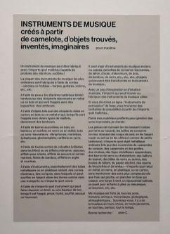 Eric Baudelaire - When There Is No More Music to Write Chapitre 1 - «Faire avec» au CRAC Occitanie – Sète