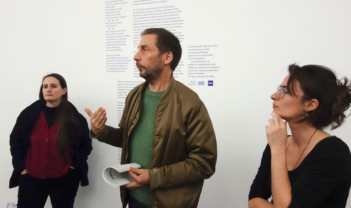 Marie Cozette - Eric Baudelaire et Alexandra Delage au CRAC Occitanie – Sète