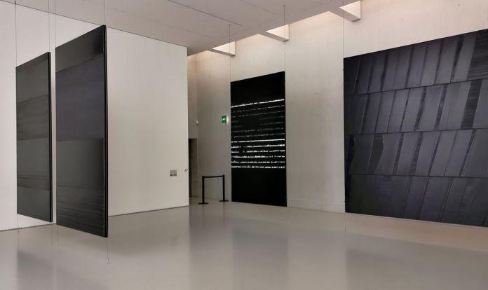 Pierre Soulages - Musée Fabre - Salle 47a