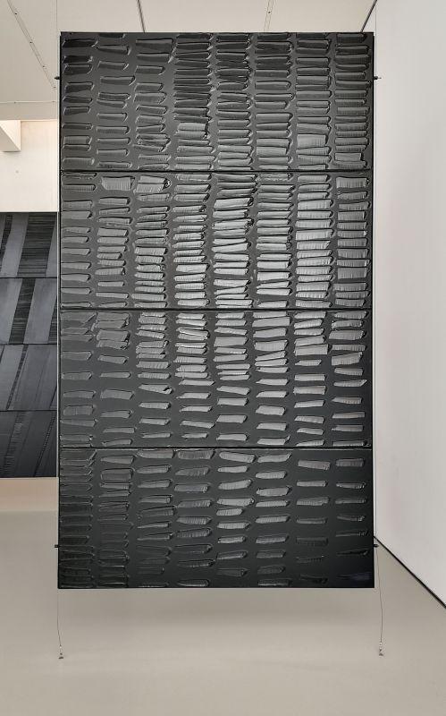 Pierre Soulages, Peinture 324 x 181 cm, 31 juillet 2010- Musée Fabre - Salle 47a