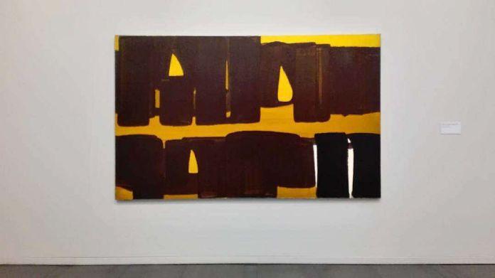 Pierre Soulages Peinture 162 x 262 cm, 5 septembre 1971 - Musée Fabre - Salle 47b