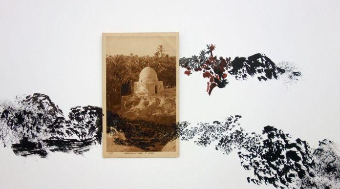 Abdelkader Benchamma - Fata Bormosa au MRAC à Sérignan - Vue de l'exposition Salle 2 (détail)