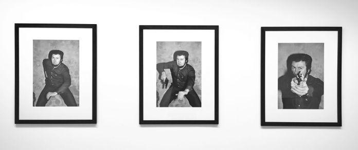 Alain Bizos - Jacques Mesrine, le tir, 1979 - Pouvoir(s) au Centre Photographique Marseille