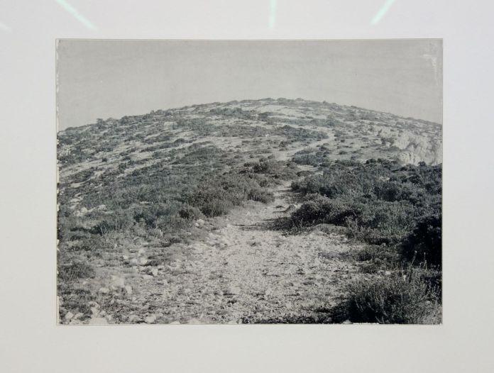 Gérard Traquandi - Plateau de l'homme mort, 1989-1990 - Photographie et documents, 1983-2018 au Frac Paca