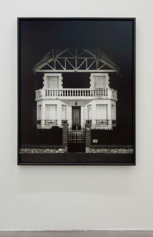 Xavier Zimmermann - Façade III, 1994 - Photographie et documents, 1983-2018 au Frac Paca