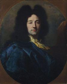 Hyacinthe Rigaud (Perpignan, 1659 – Paris, 1743), Autoportrait dit « au manteau bleu », 1696