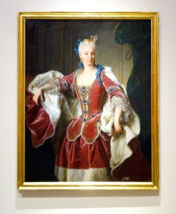 Jean Ranc - Portrait d'Élisabeth Farnèse, reine d'Espagne, 1723