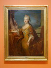 Jean Ranc - Portrait de Louise Élisabeth d'Orléans, reine d'Espagne, 1724