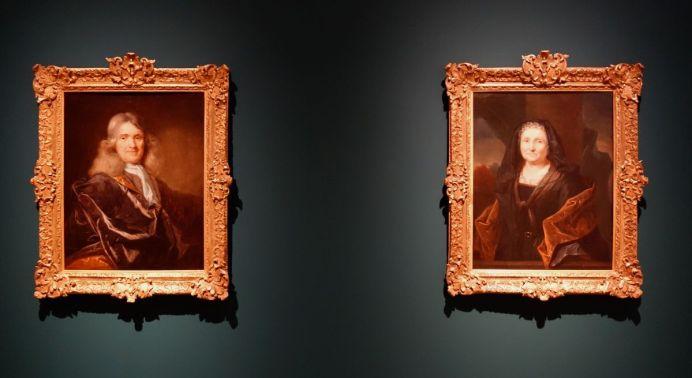 Jean Ranc - Portraits de Madame et Monsieur Dupuy, Vers 1697-1700